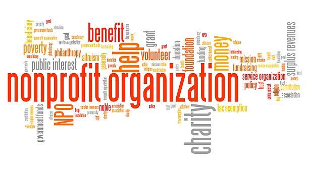 Nonprofit Non-Profit Organization Word jumble Tax-Exempt Entities